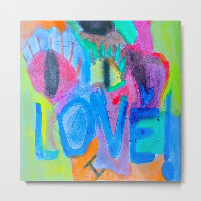 Summer Love | Painting by Elisavet Metal Print