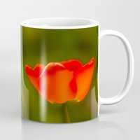 tulip Mugs featuring Tulip by Bruce Stanfield