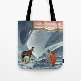 as from a dream like enchantment we awakened entranced Tote Bag