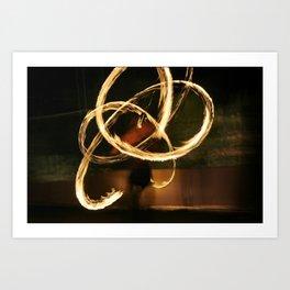 Infinity Dancer Art Print