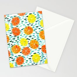 Citrus Lily (white) Stationery Cards