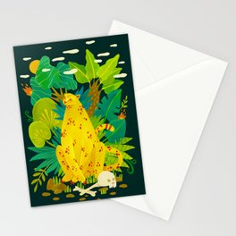 Somewhere in Jungle Stationery Cards