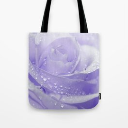 Rose with Drops 085 Tote Bag