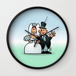Wonderfull wedding Wall Clock