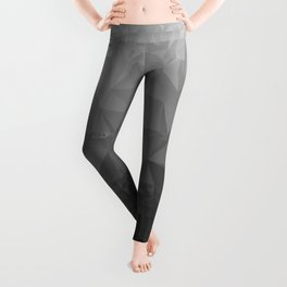 Black and Grey Ombre - Flipped Leggings