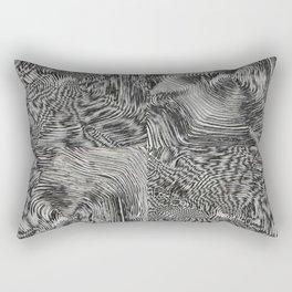Optic kinetic art Rectangular Pillow