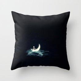 Fallen Sailor Throw Pillow