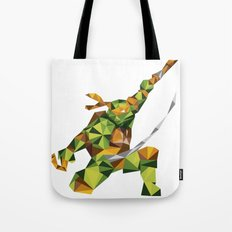 Nunchaku Turtle Tote Bag