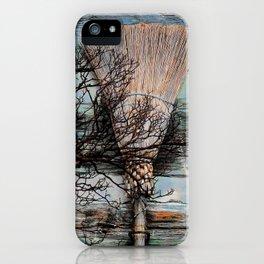 Cinnamon Broom  iPhone Case
