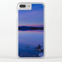 Pahranagat National Wildlife Refuge Sunset #1 Clear iPhone Case