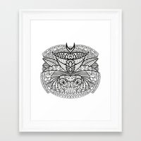 ornate Framed Art Prints featuring Ornate by RifKhas