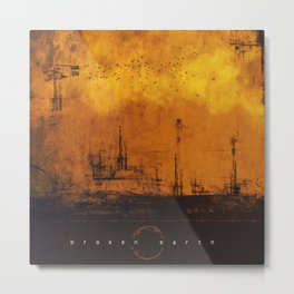 Broken Earth Metal Print