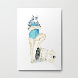 Undomesticated // Birdie Metal Print