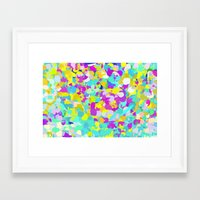confetti Framed Art Prints featuring Confetti  by Maggie Dylan