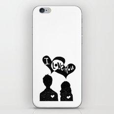 ILoveYou iPhone & iPod Skin