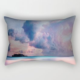 The Island of Life Rectangular Pillow