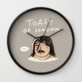 Toast of London Wall Clock