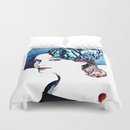 christina hendricks Duvet Cover