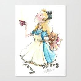 Alice & Dina Canvas Print