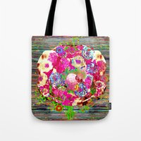 rare Tote Bags featuring Rare Earth by Fawnover