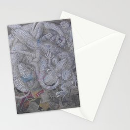 Reptilian Brain Stationery Cards