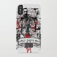 zombie iPhone & iPod Cases featuring Zombie by DaeSyne Artworks