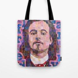 Portrait Of Alfred Jarry Tote Bag