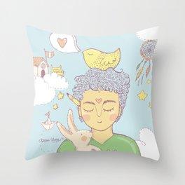 ChicoDibujante / DraftsGuy Throw Pillow