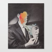 mask Canvas Prints featuring Mask by A.T. Velazco