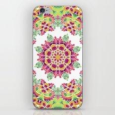 Floral mandala. Ethnic pattern iPhone Skin