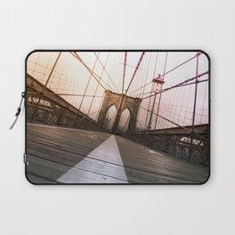 Brooklyn Bridge, New York City Laptop Sleeve