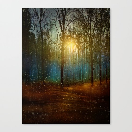 In seed time learn, in harvest teach, in winter enjoy. Canvas Print