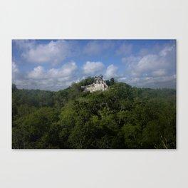 Mayan Jungle Canvas Print