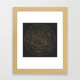 Visible Heavens - Dark Framed Art Print