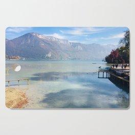Lake Annecy Cutting Board