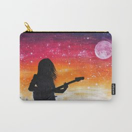 A rockstar singing in the mountains Carry-All Pouch