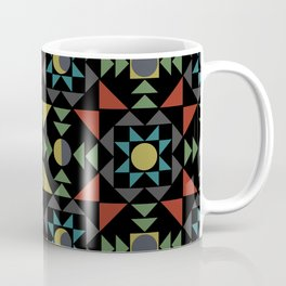 Moon Phases Quilt Design II Coffee Mug