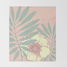 Floral# Throw Blanket
