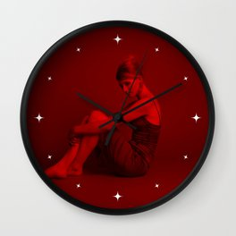 Jodie Whittake - Celebrity (Photographic Art) Wall Clock