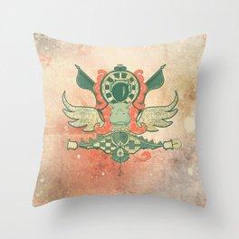 Hipototen Throw Pillow