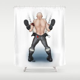 In The Sling Shower Curtain