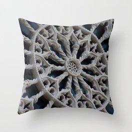 Rosone di Collemaggio Throw Pillow
