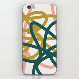 Abstract Lines 02A iPhone Skin