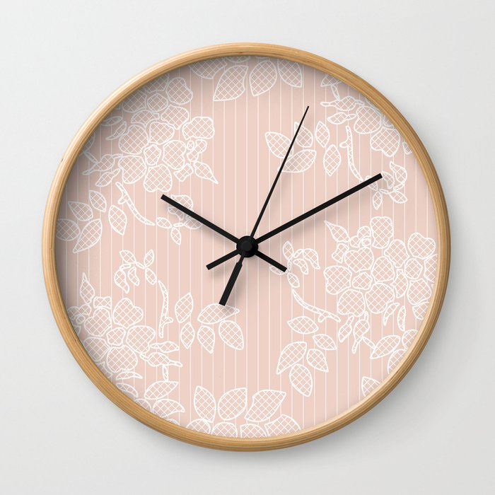 SHADE OF PALE Wall Clock