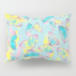 BUTTERFLIES YELLOW Pillow Sham