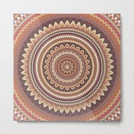 Mandala 85 Metal Print