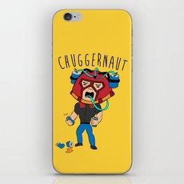 I'm the Chuggernaut, bitch! iPhone Skin