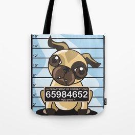 Pug Shot Tote Bag