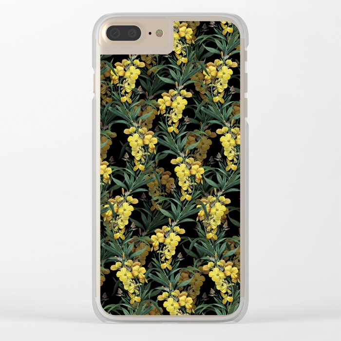 Ivy night Clear iPhone Case
