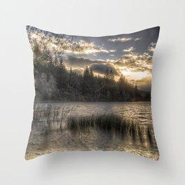 Loch na h-Àirde Throw Pillow